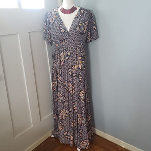 Anthropologie/The Odells Zinaida wrap dress - NWOT